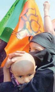 Indian Muslim woman BJP photo