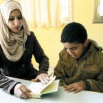 Gazze'de otizmli bir çocuk bir yılda Kur'an-ı Kerim'i ezberle