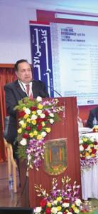 N. Ram at MANUU seminar