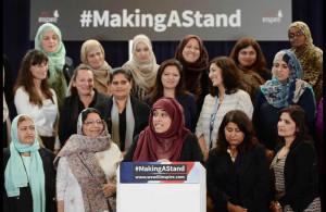 #makingastand-British Muslim Women Launch New Campaign Against I