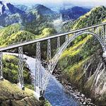 Wonder in Steel over Chenab – World's Highest Rail Bridge
