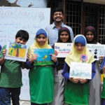 Children's Bookmaking Workshop – Publishing Comes to Chennai School