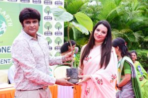 Greener Earth in Support of  'One Tree by One Person'