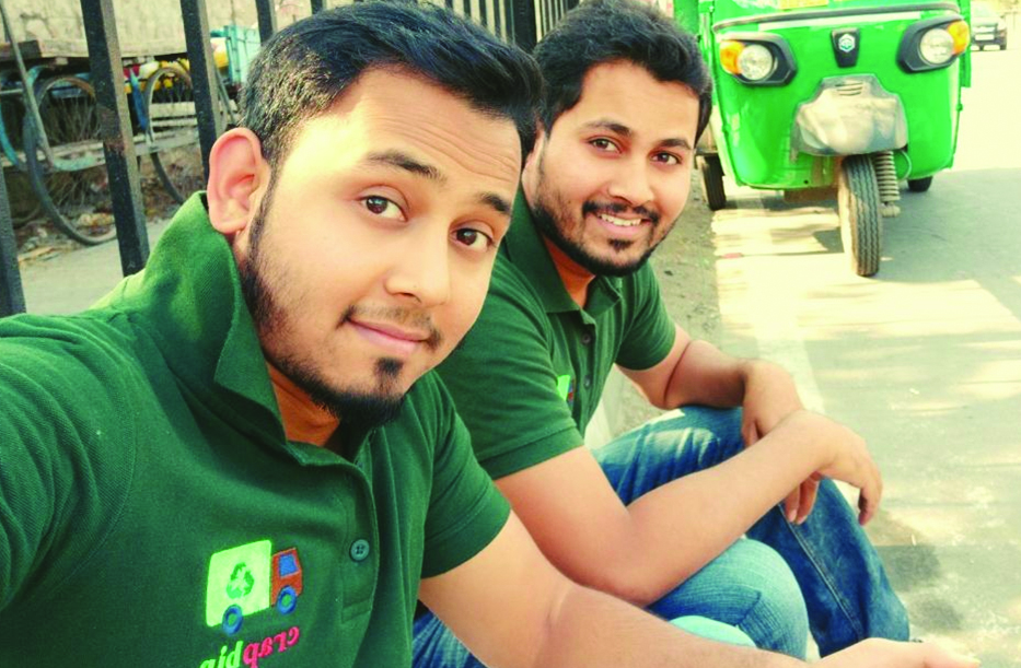 Three brothers from Hyderabad have started 'Crapbin'