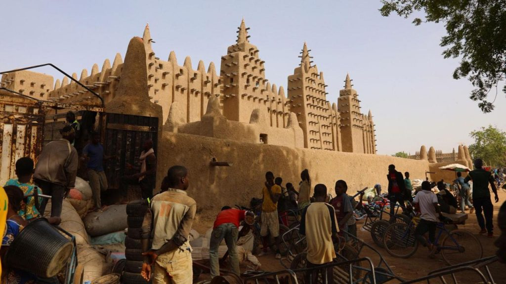 The Massive Mosque in Africa That's Built Once a Year