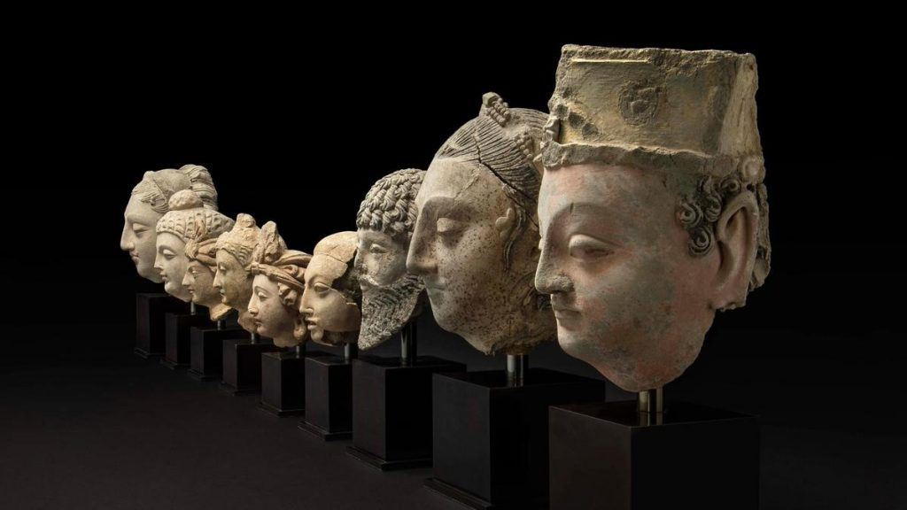 Buddha Sculptures Returned  To Afghanistan