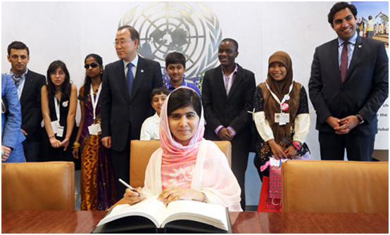 Malala Yousafzai Declared 'Most  Famous Teenager' Of Decade By UN