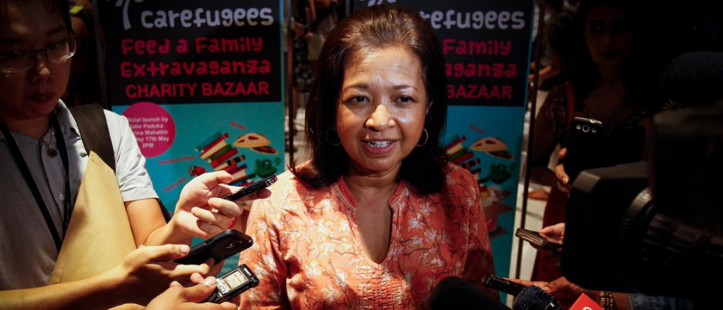 Muslim Leaders Must  Invest In People, Not  Wars: Marina Mahathir
