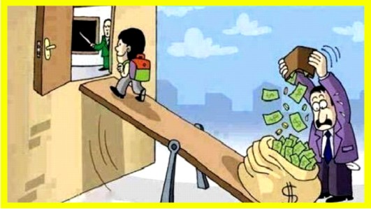 Higher Education……..  at Whose Cost?