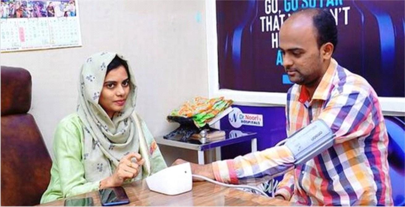 Kadapa doctor offers check-ups  for Rs 10