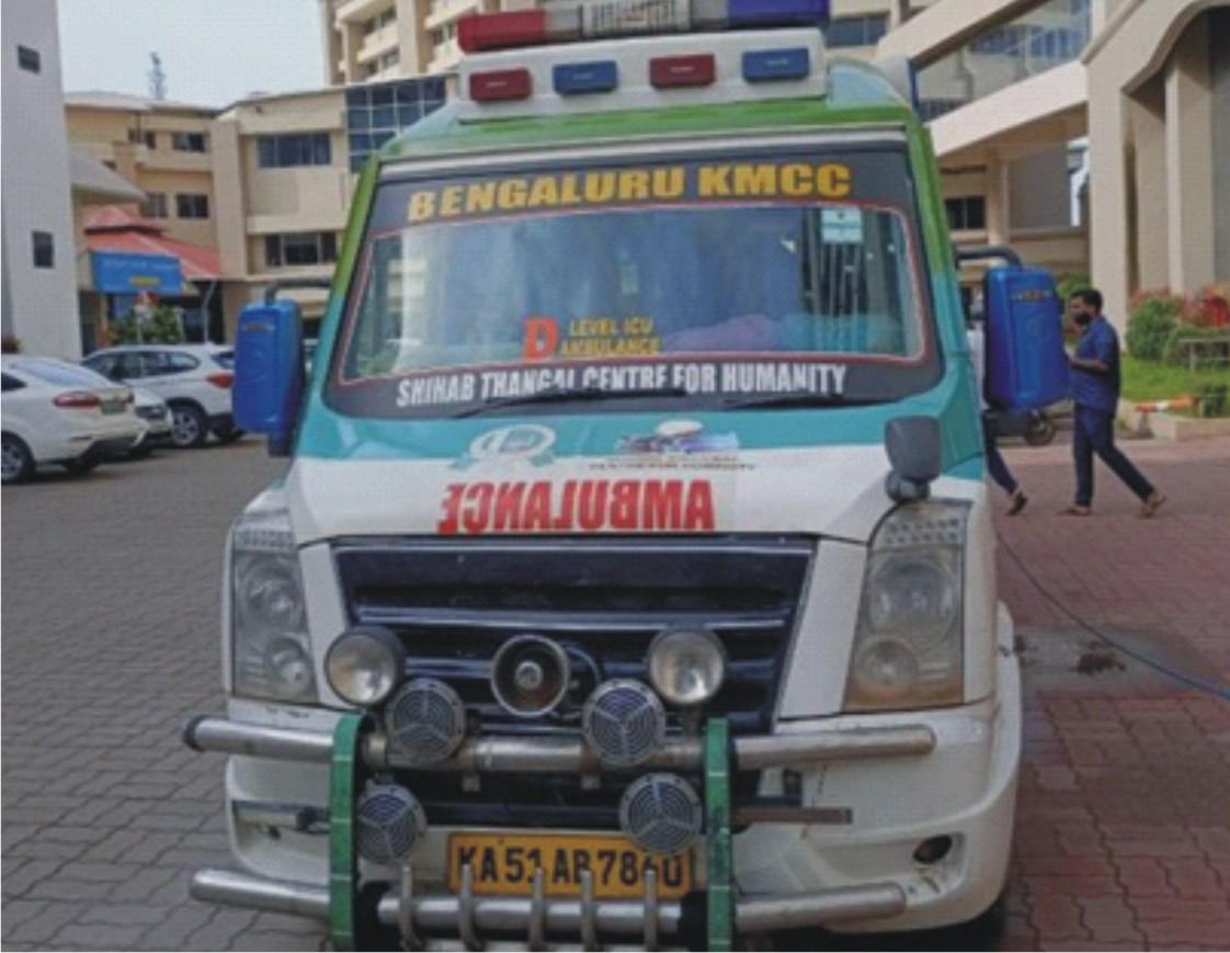 Ambulance Driver Aneef