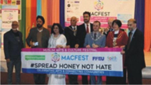 British Muslim Cultural  Charity Wins Queen's Award