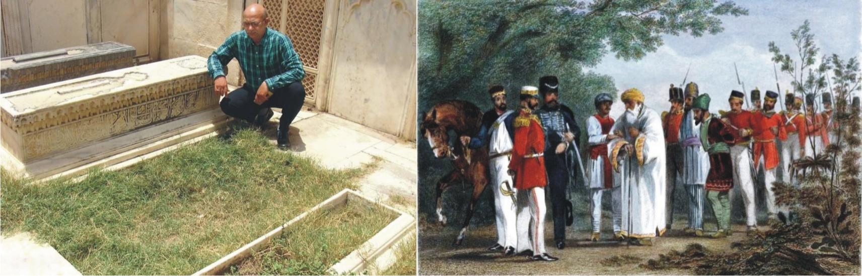 Campaign to bury Bahadur Shah Zafar at Mehrauli