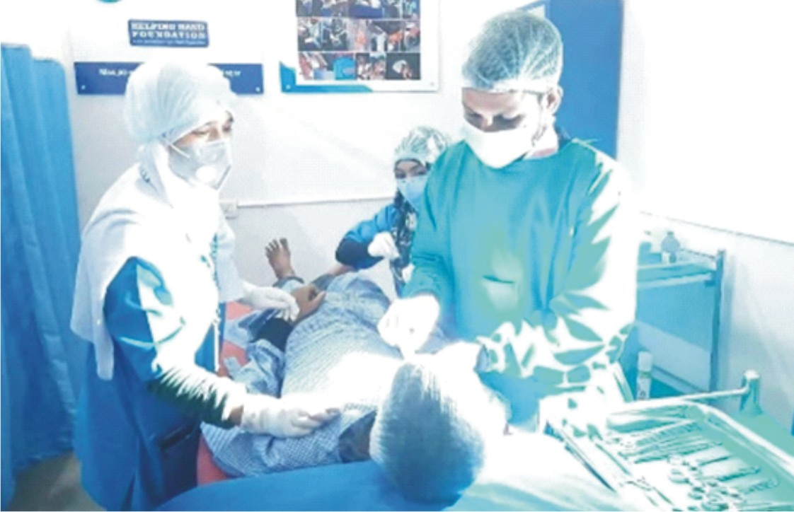 Hyderabad Masjid sets up Operation Theatre  for Minor Surgeries