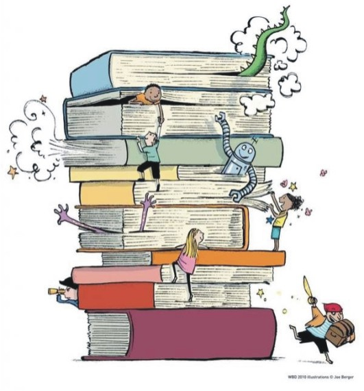 We are far away from reality! Books are the genuine and selfless friend
