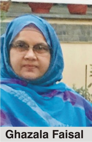 The personality of the Month – Ghazala Faisal